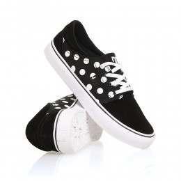 DC Trase SE Shoes Black/White Print