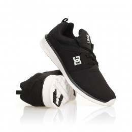 DC Heathrow Shoes Black/White