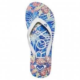 Roxy Tahiti V Sandals Blue Jay/White