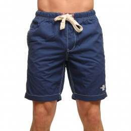 Old Guys Rule Logo Beach Shorts Navy Blue