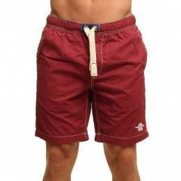 Old Guys Rule Logo Beach Shorts Red