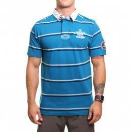 Old Guys Rule Vintage Goods Pique Polo Shirt Sea