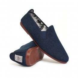 Flossy Mens Arnedo Shoes Denim