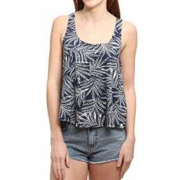 Volcom Touch My Sol Tank Sea Navy