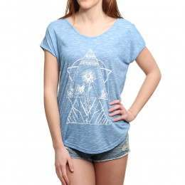 Volcom Got Your Back Tee Electric Blue
