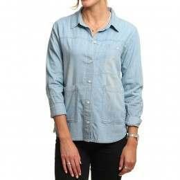 Volcom Blu Bells L/S Shirt Ocean