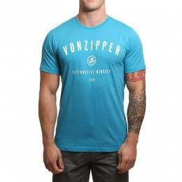 VonZipper Mind Set Tee Deep Turquoise