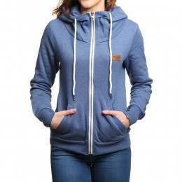 Volcom In A Dayz Z/Hoody Blue Drift