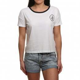 Volcom Simply Stoned Tee White
