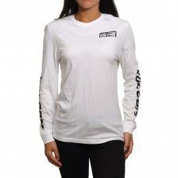 Volcom Simply Stoned Long Sleeve Top White