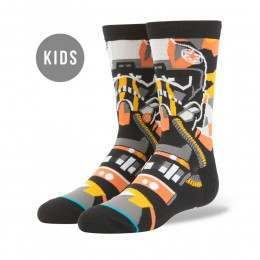 Stance X Star Wars Boys Pilot Mosaic Socks Black