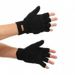 BARTS HAAKON BUMGLOVES Black