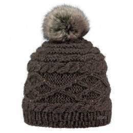Barts Claire Beanie Heather Brown