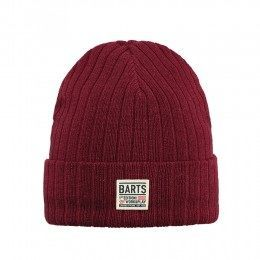 Barts Parker Beanie Burnt Red