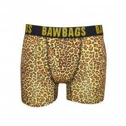 Bawbags Leopard Boxers Yellow