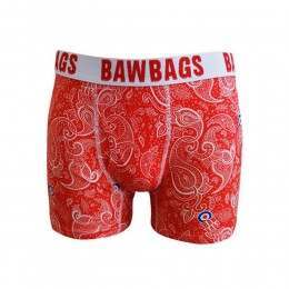 BAWBAGS PAISLEY BOXERS Red