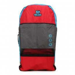 Bulldog Double Bodyboard Bag Backpack Red/Cyan