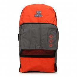 Bulldog Double Bodyboard Bag Backpack Red/Grey
