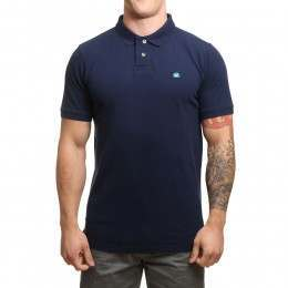 Blue Tide Classic Polo Shirt Navy