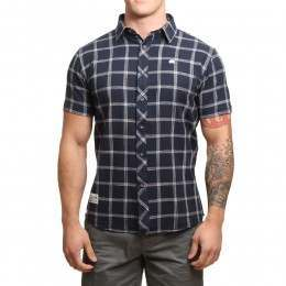 Blue Tide Gradient Check Shirt Navy Check