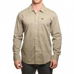Brixton Charter Long Sleeve Shirt Sage