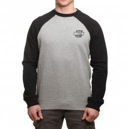 Brixton Garth Crew Heather Grey/Black