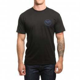 Brixton Wheeler II Tee Black/Royal