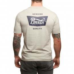 Brixton Stith Tee Grey/Navy