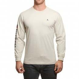 Brixton Stowell Long Sleeve Top Stone