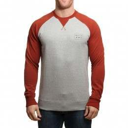 Billabong Die Cut Crew Grey Heather