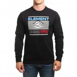 Element Hodges Crew Flint Black