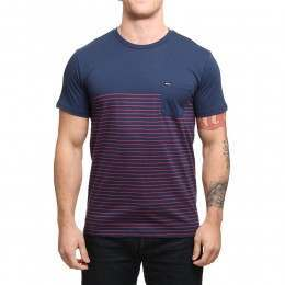 RVCA Switch Up Tee Federal Blue