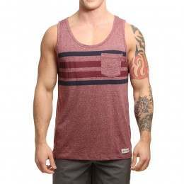Element Fowler Tank Oxblood Red