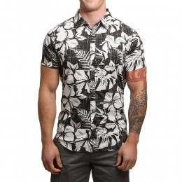 Billabong All Day Floral Shirt Asphalt