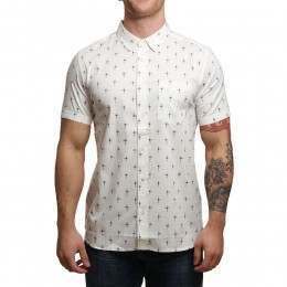 Element Hallen Shirt Bone White B