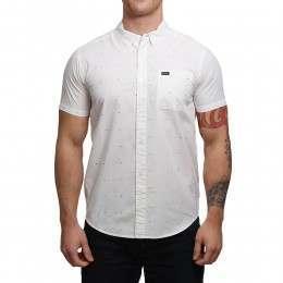 RVCA VA Dobby Shirt Antique White