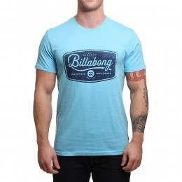 Billabong Pitstop Tee Azure Blue