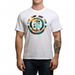 Element Cut Out Icon Tee Optic White