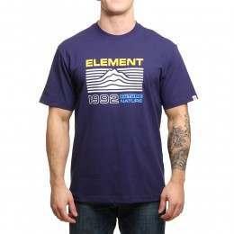Element Contour Tee Aura Purple
