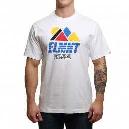 Element Angles Tee Optic White