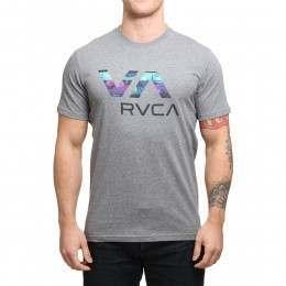 RVCA Chopped VA Tee Athletic Heather