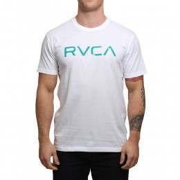 RVCA Big RVCA Tee White
