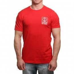 Captain Fin Boxed Out II Tee Red