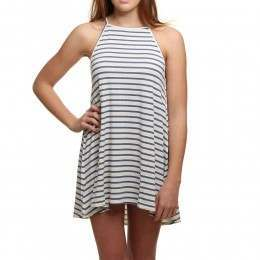 Billabong Sing Along Dress White Cap
