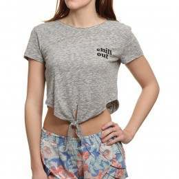 Billabong Chill Side Tee Dark Athletic Grey