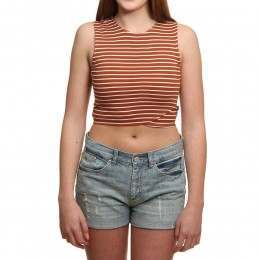 RVCA Lineage Top Ginger