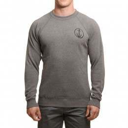 Captain Fin Helm Crew Gunmetal Heather