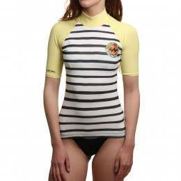 Billabong Surf Capsule Rash Vest Sunkissed
