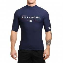 Billabong Unity Short Sleeve Rash Vest Navy