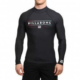 Billabong Unity Long Sleeve Rash Vest Black